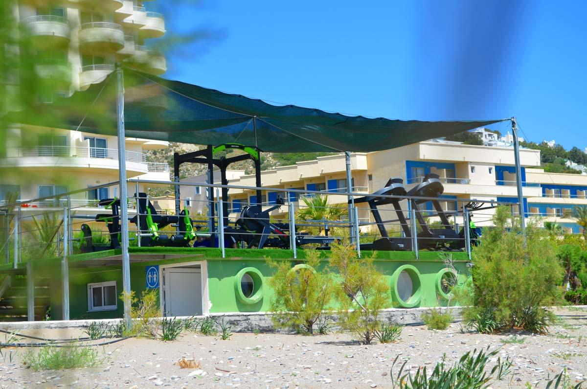 Pegasos Deluxe Beach Hotel - Outdoor Gym
